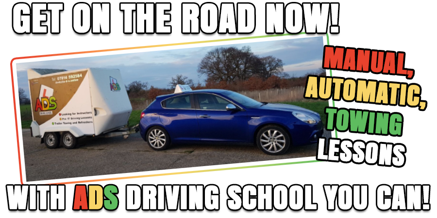 Driving lessons with ADS Driving School